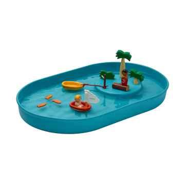 PLAN TOYS Vodní hra s jezírkem 12 ks