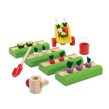 PLAN TOYS Zeleninová zahrádka 20 ks