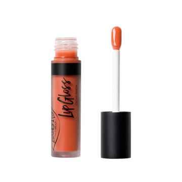 puroBIO cosmetics LipGloss Lesk na rty 03 orange 4,8 ml