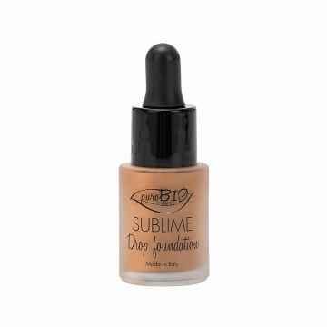 puroBIO cosmetics Tekutý make-up 06 s SPF 10 19 g