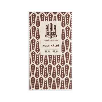 AJALA CHOCOLATE Rustikální, BIO tmavá čokoláda 45 g