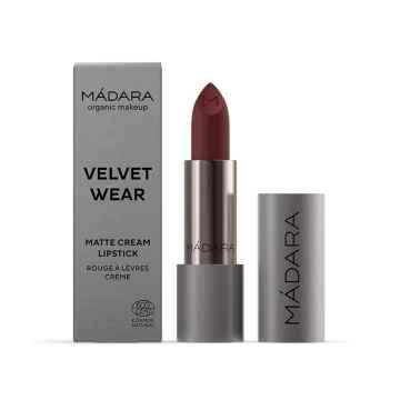 MÁDARA Velvet wear matná rtěnka, odstín 35 dark nude 3,8 g