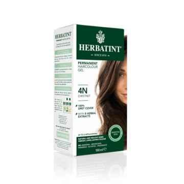 HERBATINT Permanentní barva na vlasy kaštan 4N 150 ml
