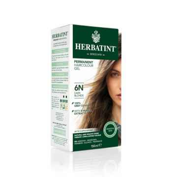 HERBATINT Permanentní barva na vlasy tmavá blond 6N 150 ml