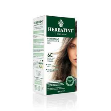 HERBATINT Permanentní barva na vlasy tmavá popelavá blond 6C 150 ml