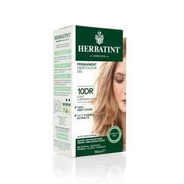 Permanentní barva na vlasy světle měděná zlatá 10DR 150 ml