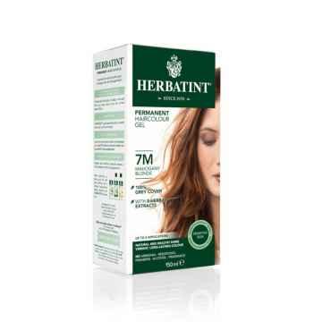 HERBATINT Permanentní barva na vlasy mahagonová blond 7M 150 ml