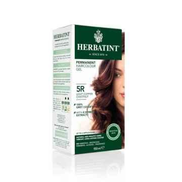HERBATINT Permanentní barva na vlasy světle měděný kaštan 5R 150 ml