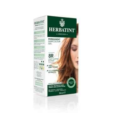 HERBATINT Permanentní barva na vlasy světle měděná blond 8R 150 ml