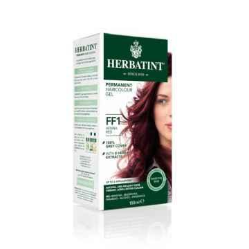 Permanentní barva na vlasy červená henna FF1 150 ml
