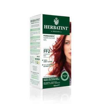 HERBATINT Permanentní barva na vlasy karmínová červená FF2 150 ml