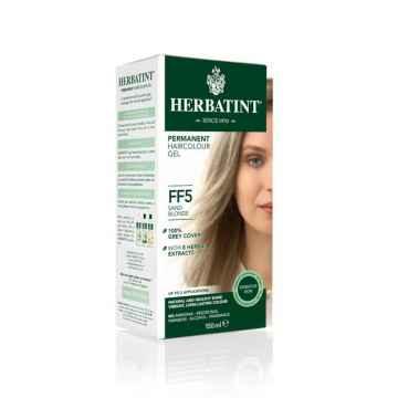 HERBATINT Permanentní barva na vlasy písková blond FF5 150 ml