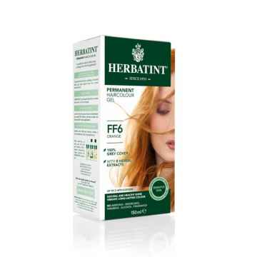 HERBATINT Permanentní barva na vlasy oranžová FF6 150 ml