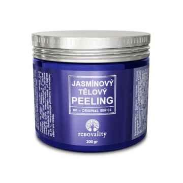 Renovality Jasmínový tělový peeling 200 g