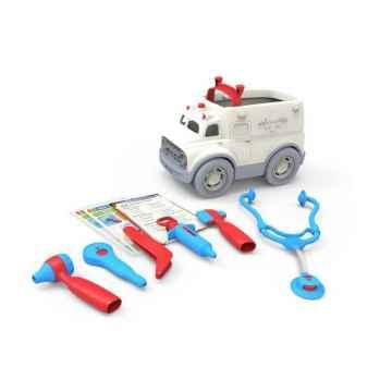 green toys Ambulance s lékařskými nástroji 1 ks