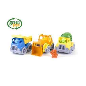 green toys Stavební stroje set 1 ks