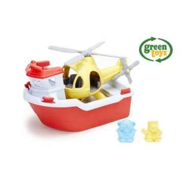 green toys Záchranný člun a vrtulník 1 ks