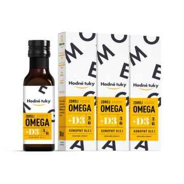 Omega D3 3 x 100 ml