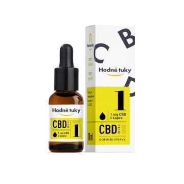 Hodné tuky CBD olej 3% 10 ml