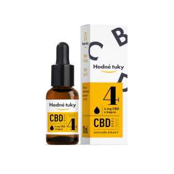 Hodné tuky CBD olej 12% 10 ml