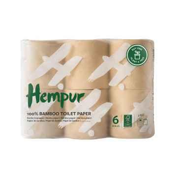 Hempur Bambusový toaletní papír 6 ks
