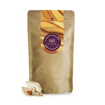 MARK face and body Přírodní kávový peeling MARK Coffee Nougat 150 g