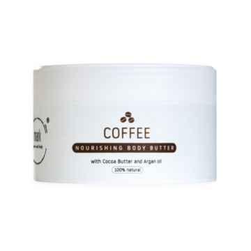 MARK face and body Přírodní šlehané tělové máslo MARK body butter Coffee 200 ml