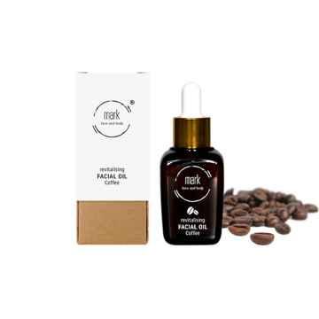 MARK face and body Pleťové sérum MARK Organic oil Coffee 30 ml