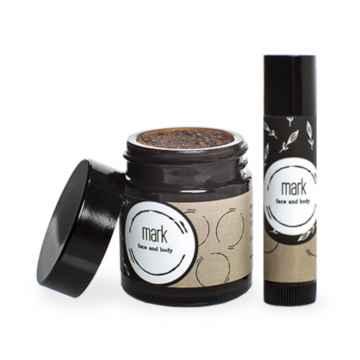MARK face and body Komplexní péče o rty MARK Coffee Lips 35 g