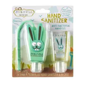 Jack n Jill Antibakteriálni gel na ruce pro děti Zajíc 2 x 29 ml
