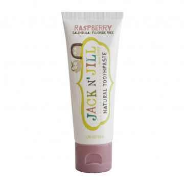 Jack n Jill Přírodní zubní pasta Organic malina 50 g