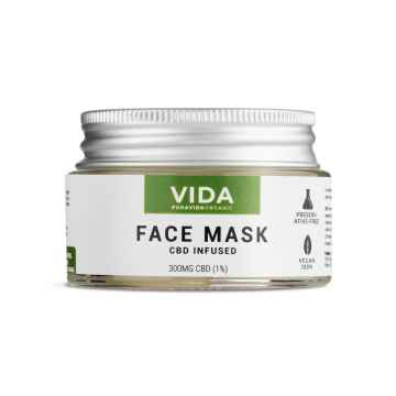 CBD Pleťová maska, 300 mg 30 ml