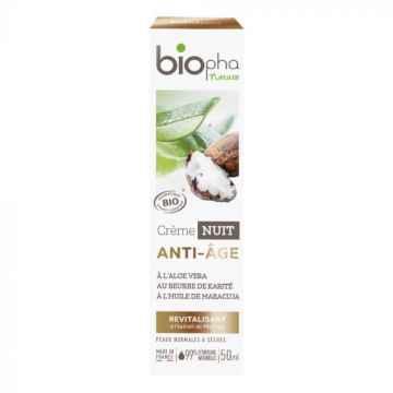 BioPha Noční krém ANTI-AGE 50 ml