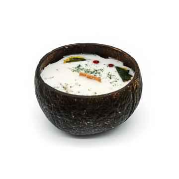 TROPIKALIA Veganská svíčka v kokosu lemon & mint 350 ml
