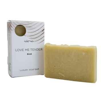 Soma n Botanicals LOVE ME TENDER Regenerační mýdlo s hedvábím 100 g