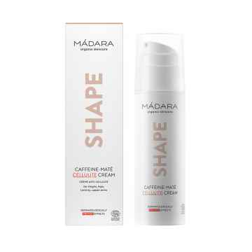 MÁDARA Shape Caffeine-Maté, krém na celulitidu 150 ml