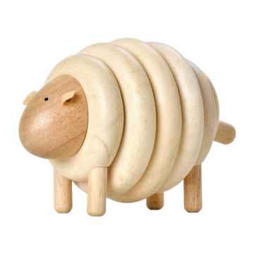 PLAN TOYS Navlékací ovce 7 ks