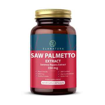 ELANATURA Saw Palmetto, kapsle 60 ks, 30 g