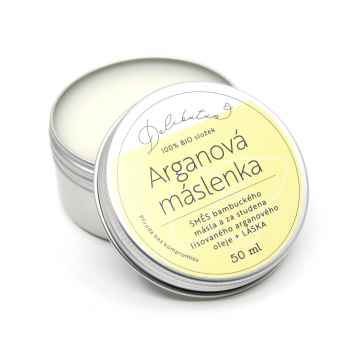 Delibutus Arganová máslenka 50 ml