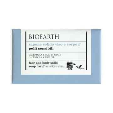 Bioearth Mýdlo na obličej a tělo pro citlivou a reaktivní pleť 150 g