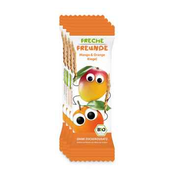 Freche Freunde BIO Ovocná tyčinka mango a pomeranč 4 x 23 g