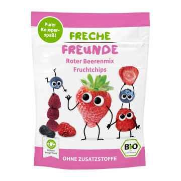 Freche Freunde BIO Ovocné chipsy lesní plody mix 10 g