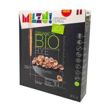 MILZU! BIO Žitné cereálie bez cukru 300 g