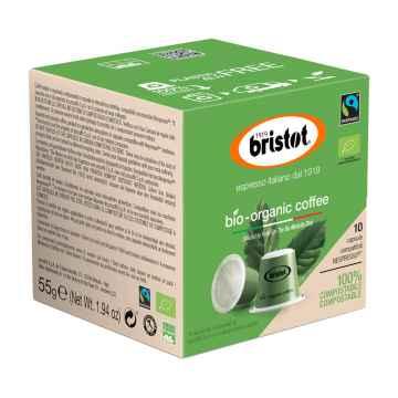 Bristot BIO coffee, kapsle 55 g