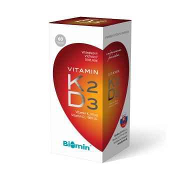 Vitamín K2 + D3 60 ks