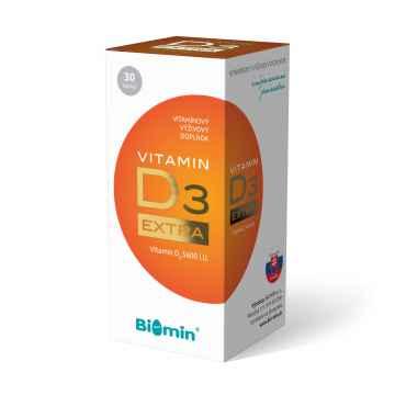 Vitamín D3 EXTRA 30 ks