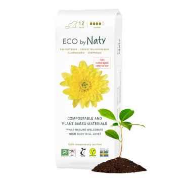 Eco by Naty Dámské vložky super 12 ks