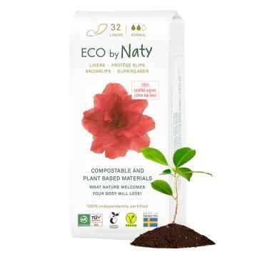 Eco by Naty Dámské slipové vložky normal 32 ks