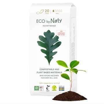 Eco by Naty Dámské inkontinenční vložky mini 20 ks