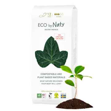 Eco by Naty Dámské inkontinenční vložky normal 12 ks